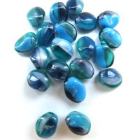 Glass Petal: Turquoise/Teal