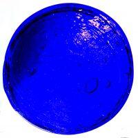 10cm Round: Dark Blue