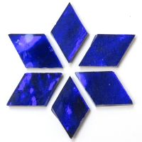 Large: AR22 Admiral Blue Wavy: 6 tiles