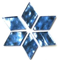 Large: AR28 Glacial Blue Wavy: 6 tiles