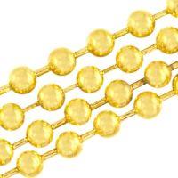 2.4mm Gold Ball Chain