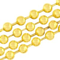 4mm Gold Ball Chain