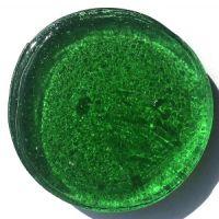 10cm Round: Bottle Green