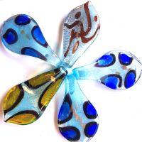 Lampwork Flower: Mixed