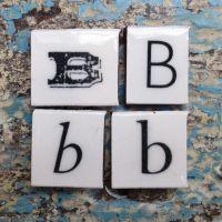 Vintage Letter B