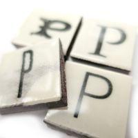 Vintage Letter P