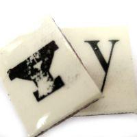 Vintage Letter Y