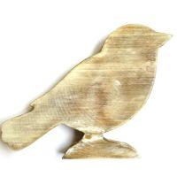 Wooden Bird: 30cm