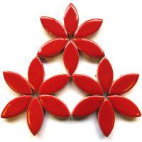 H401 Poppy Red 25mm Petal: 50g