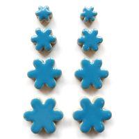 Flower Charm: Thalo Blue H171
