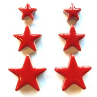 Poppy Red Stars: H401