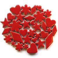 New Charm Mix: Poppy Red H401: 50g