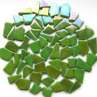 011P Iridised New Green +/-50pcs