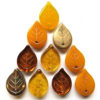 18mm Leaf: Marigold Mix