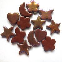 Glass Charm: Chocolate