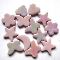 Glass Charm: Pink
