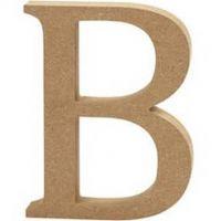 Capital MDF Letter B: 30cm
