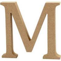 Capital MDF Letter M: 30cm