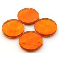 25mm: AR23 Orange Wavy: 4 tiles