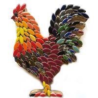 Rooster: 20cm
