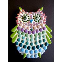 Owlet: 15cm Teal/Purple (Pack of 10)