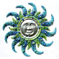 Aztec Sun: Blue 50cm**