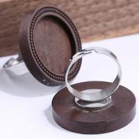 Small Wooden Ring (adjustable)